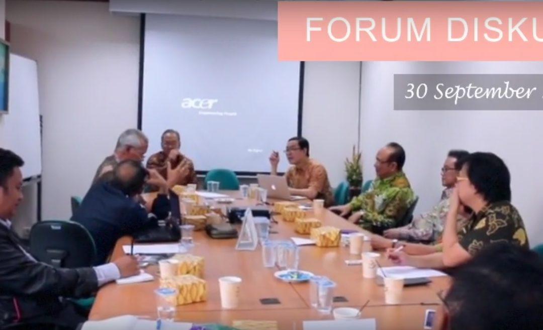 """Forum Diskusi """"Kehidupan Beragama yang Toleran, Harmonis dan Damai"""""""